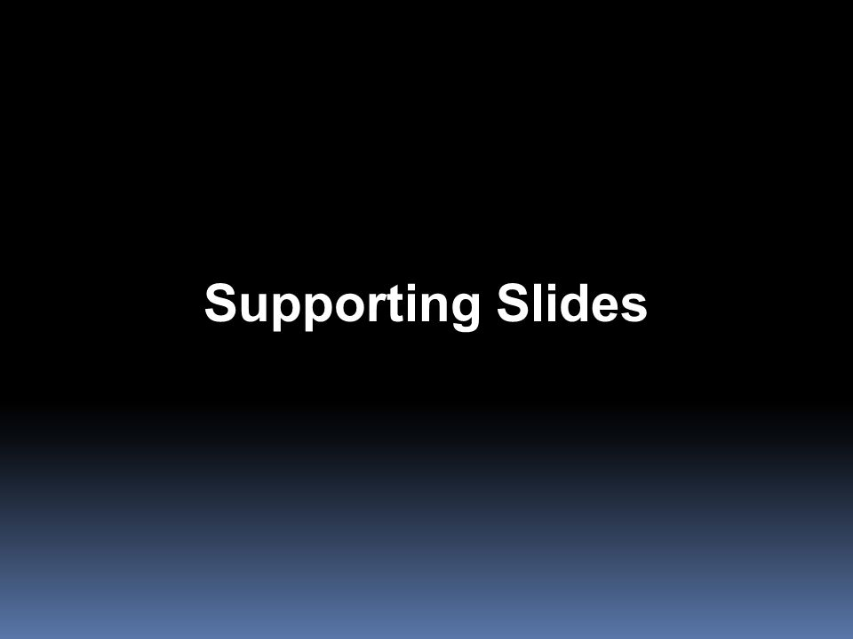 Supporting Slides