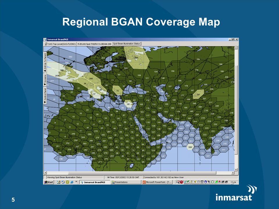 5 Regional BGAN Coverage Map
