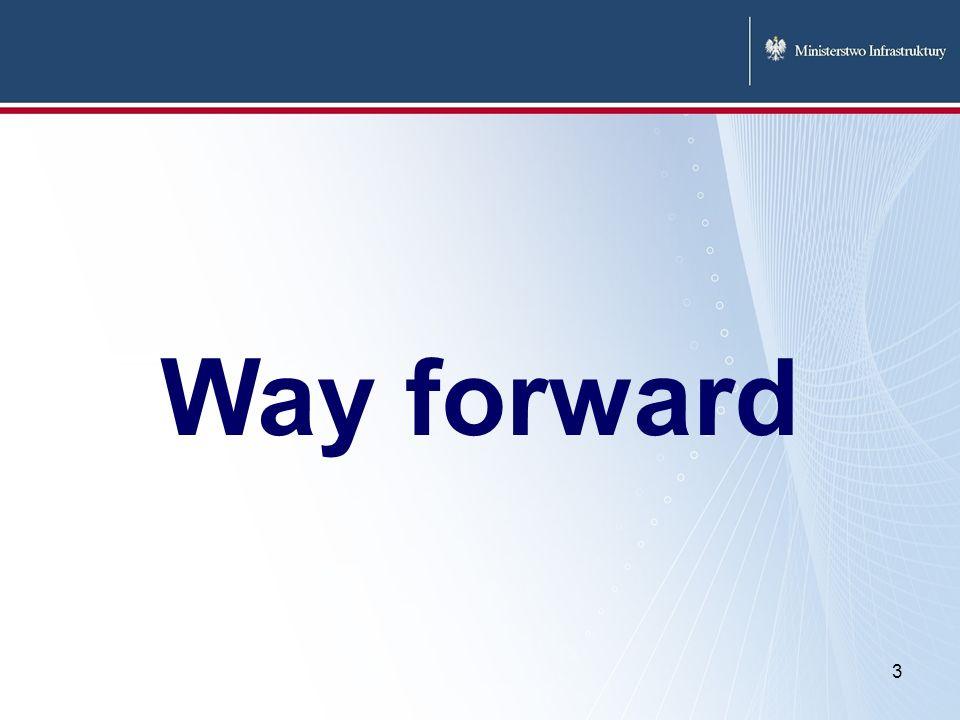 3 Way forward