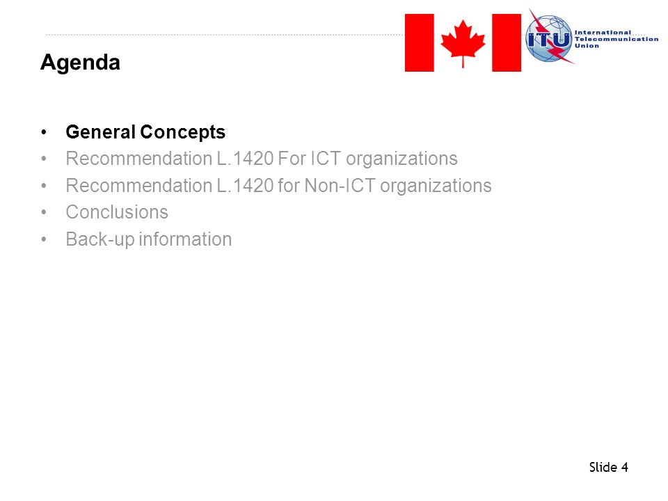 Slide 5 The assessment of the environmental impact of an ICT organization.