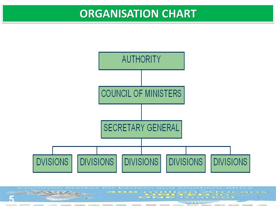 5 5 ORGANISATION CHART