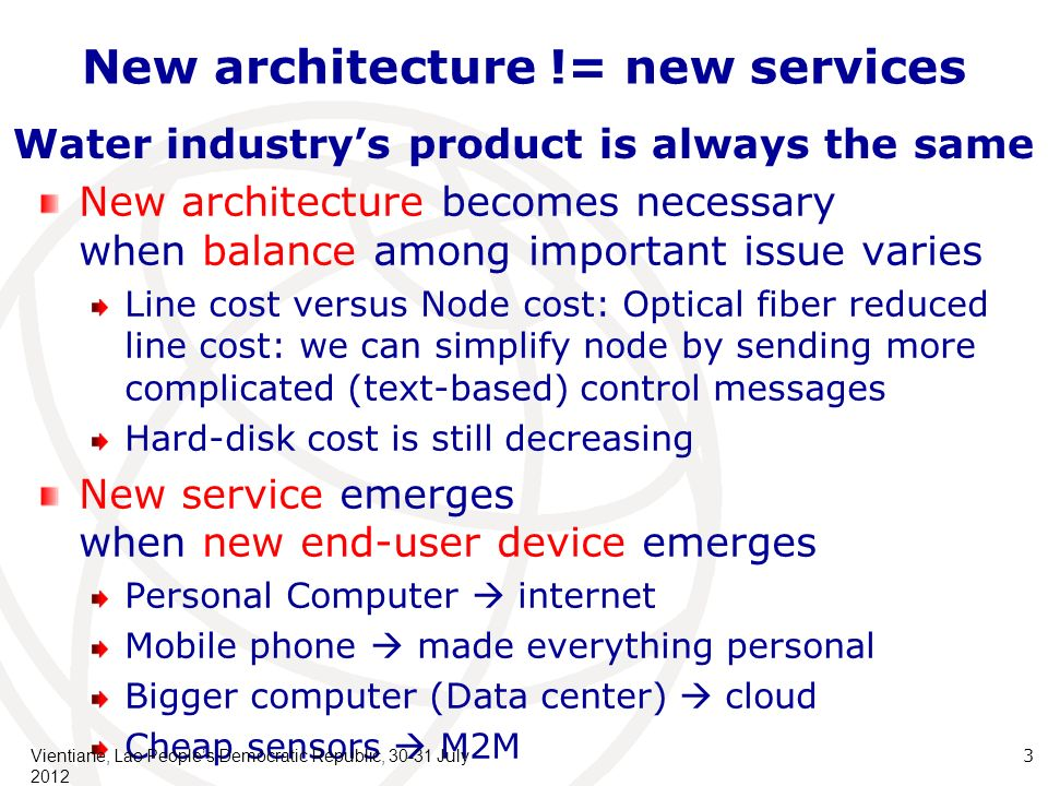 Environment of 2015-20 (1) New end-devices/services Bigger computer behind the network (cloud): The long-time dream of computer science.