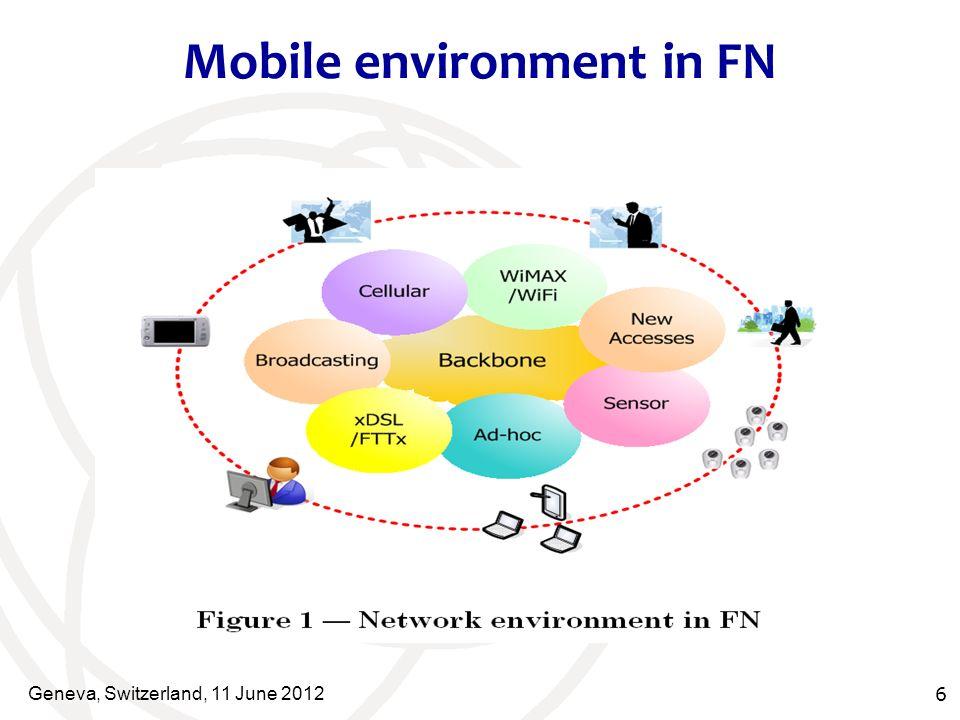Mobile environment in FN Geneva, Switzerland, 11 June 2012 6
