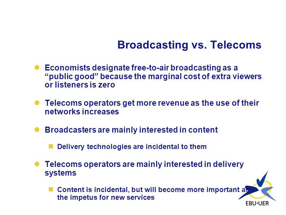 Scenario 1: Integration at the terminal level Broadcaster(s)Mux DxB TX Mobile terminal Base Station Mobile OperatorISP DTV Data carrousel DVB or UMTS DVB-T UMTS/UTRA