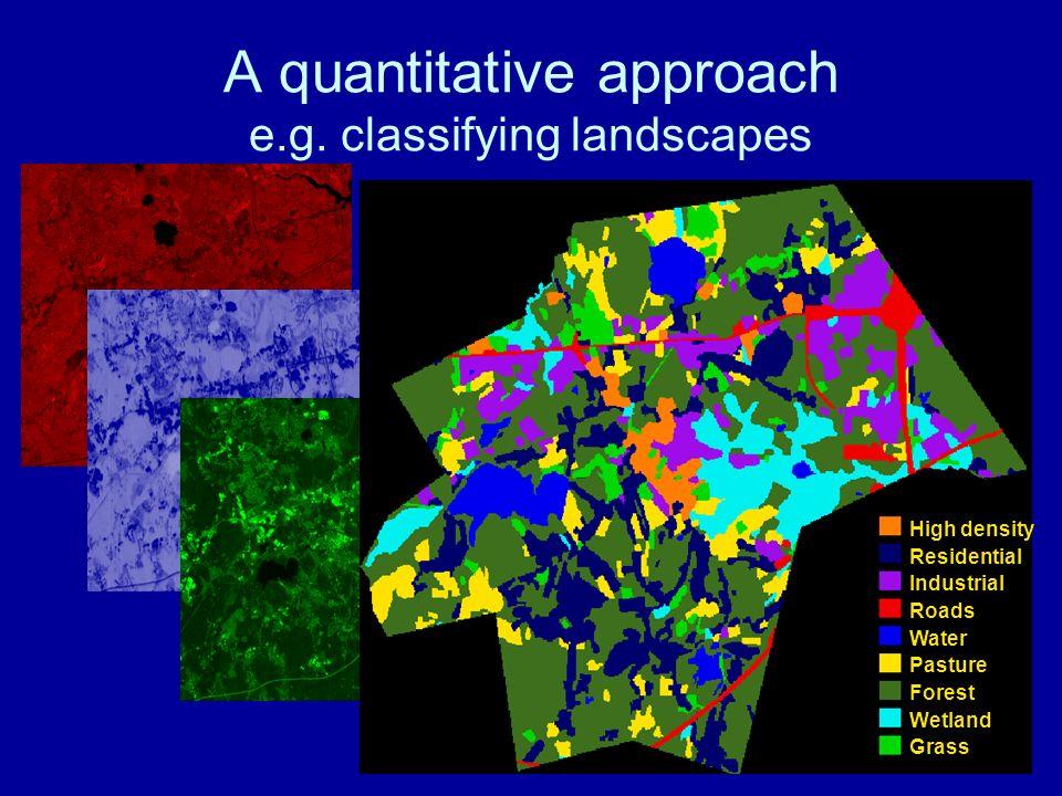 A quantitative approach e.g.