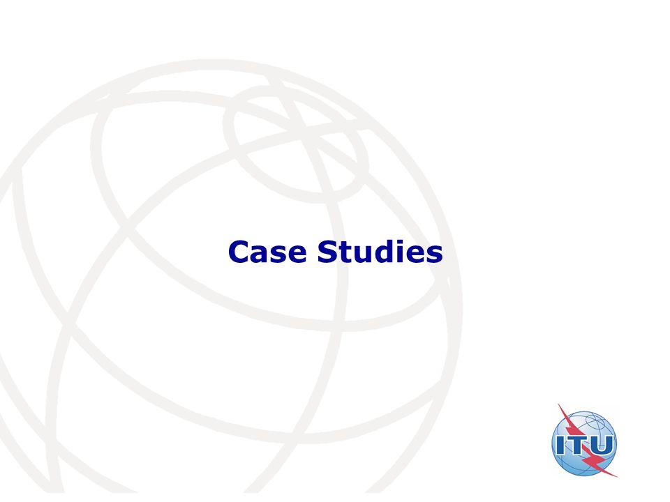 International Telecommunication Union Case Studies