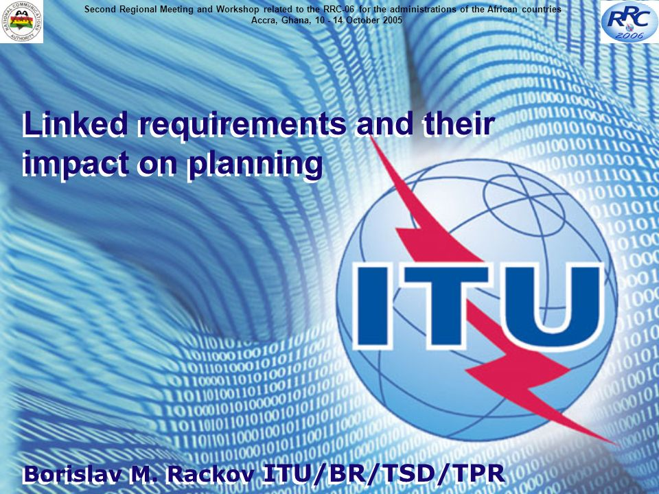 Linked requirements and their impact on planning Borislav M.