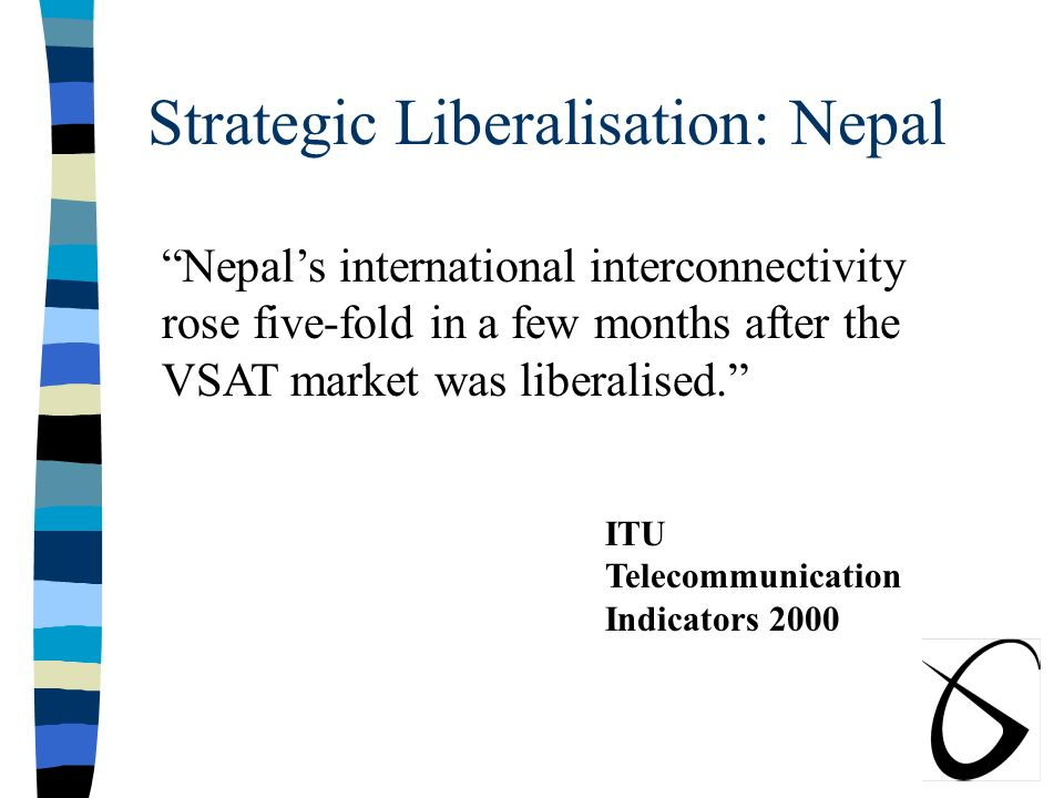 Strategic VSAT Liberalisation Has Begun Worldwide, Contd: n Bangladesh n Pakistan n India n Sri Lanka n Bhutan n Nepal SATRA