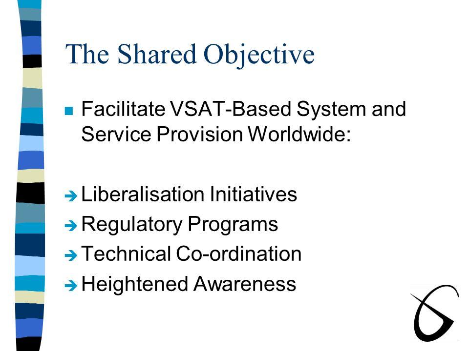 Strategic VSAT Liberalisation Has Begun Worldwide, Contd: n Bangladesh n Pakistan n India n Sri Lanka n Bhutan n Nepal SATRA