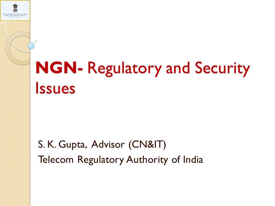 AgendaAgenda Background 22/02/20142TRAI NGN Regulatory Imperatives NGN Security Imperatives
