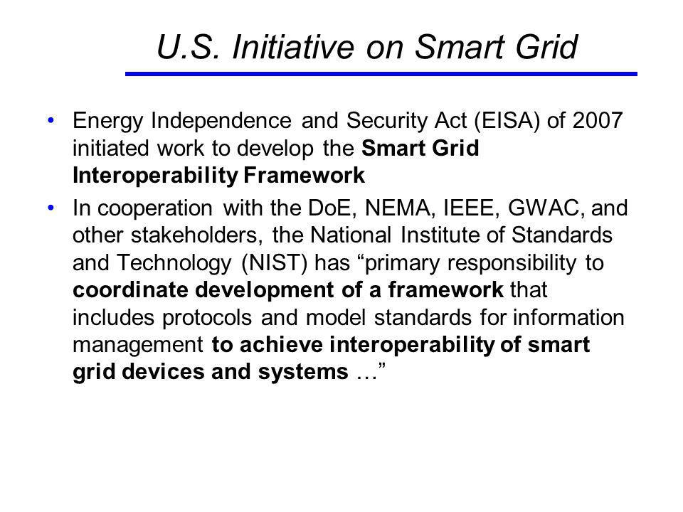 Example: Plug-in Hybrid Electric Vehicle – Grid Interface 14 SAE J2847 (communication) SAE J1772 (connector) IEEE 1547 (distributed energy interconnection) ANSI/NEMA C12 (Meter) NFPA (National Electric Code) Additional standards will be needed for: communications/Information protocols for charge management, power injection management, operations and maintenance, metering, roaming.