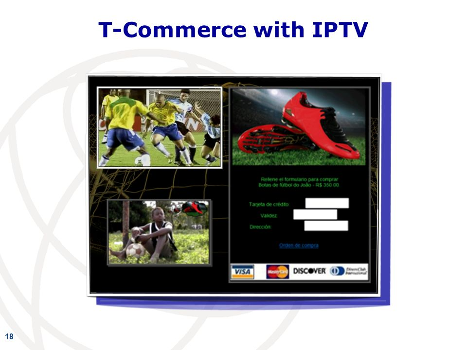 18 T-Commerce with IPTV