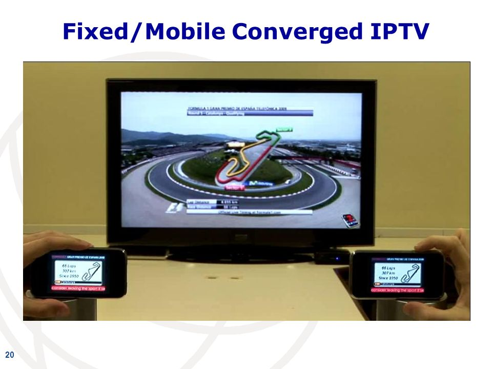 Fixed/Mobile Converged IPTV 20