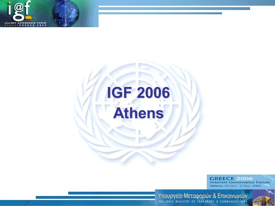 IGF 2006 Athens