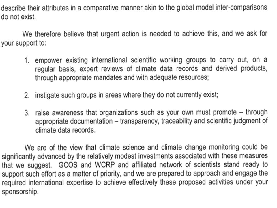 Also describes the significant progress in CEOS agencies commitments to sustained generation of climate data records and key climate observations NOAA Climate Data Records Program NASA on-going reprocessing of EOS datasets ESA Climate Change Initiative EUMETSAT Climate Program & SAFs USGS Plans for developing FCDRs and ECVs JAXAs key climate observations (GCOM)
