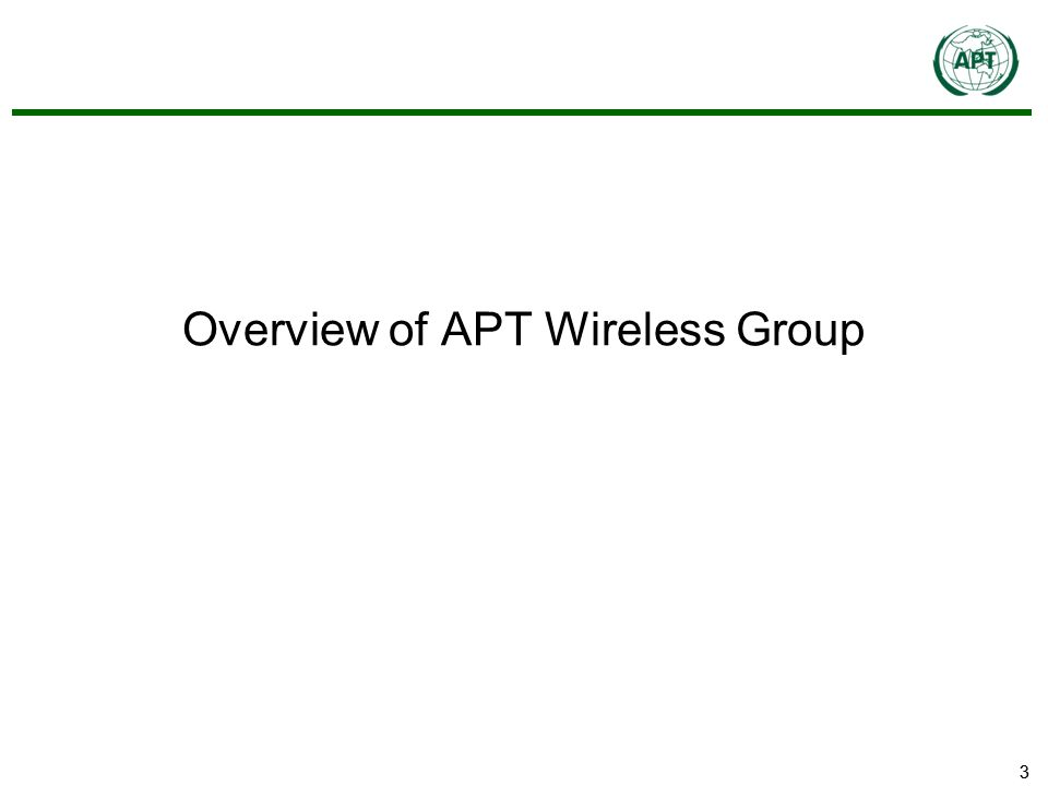 33 Overview of APT Wireless Group