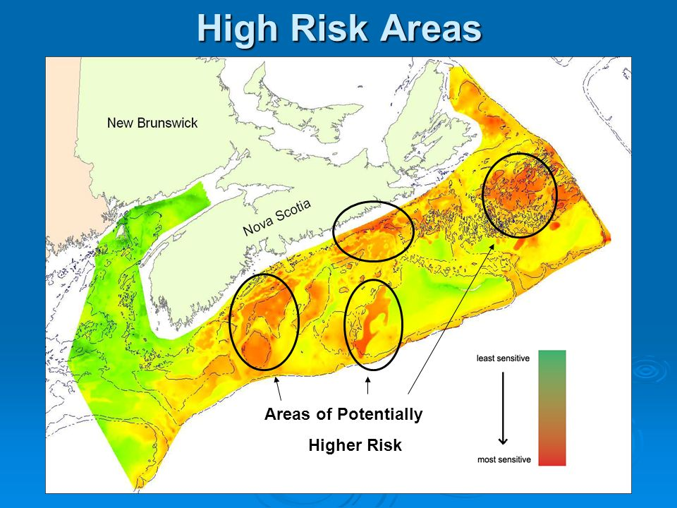 High Risk Areas Areas of Potentially Higher Risk
