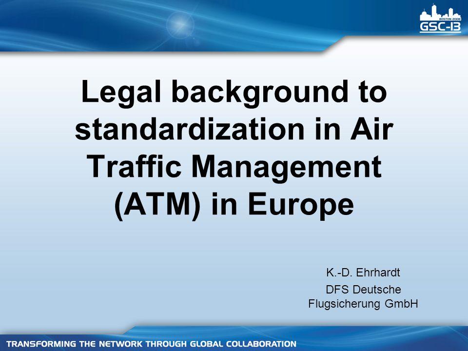 17 ER Art 3 (1)aArt 3 (1)b Art 3 (2) Harmonized Standard (HS) ER IR Community Specification (CS) R&TTE Directive Interoperability Regulation ETSI EG 201 399 ETSI TR 102 579 real world (3) VHF radio EN 300 676-1 M/405 ITU provisions ICAO provisions .