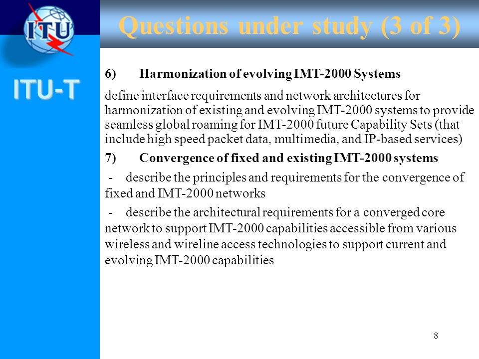 ITU-T How will NGN be developed and deployed .