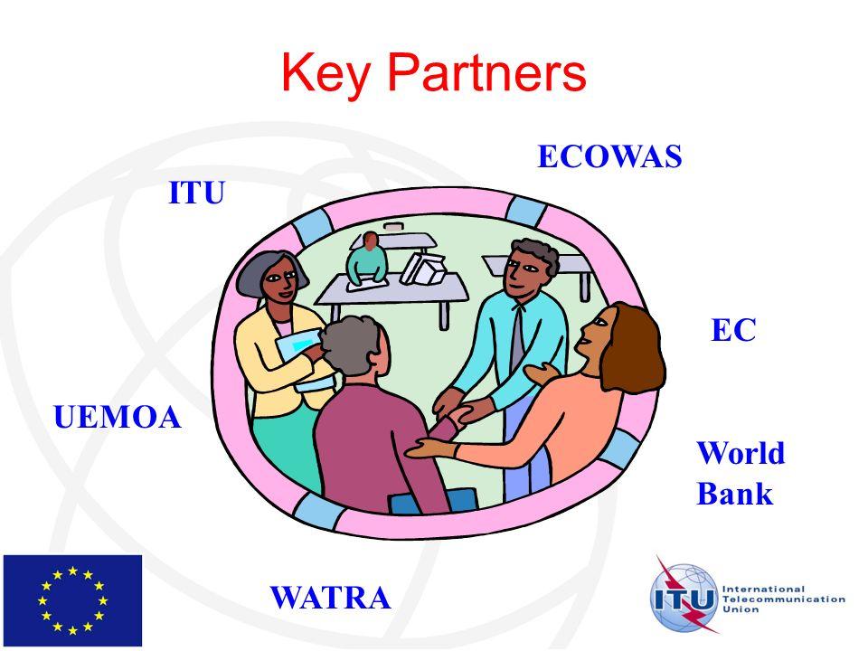 Key Partners WATRA ITU UEMOA ECOWAS EC World Bank