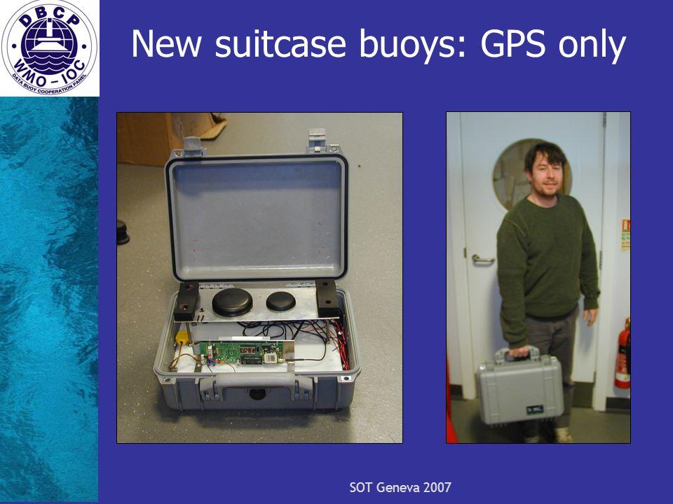 SOT Geneva 2007 New suitcase buoys: GPS only