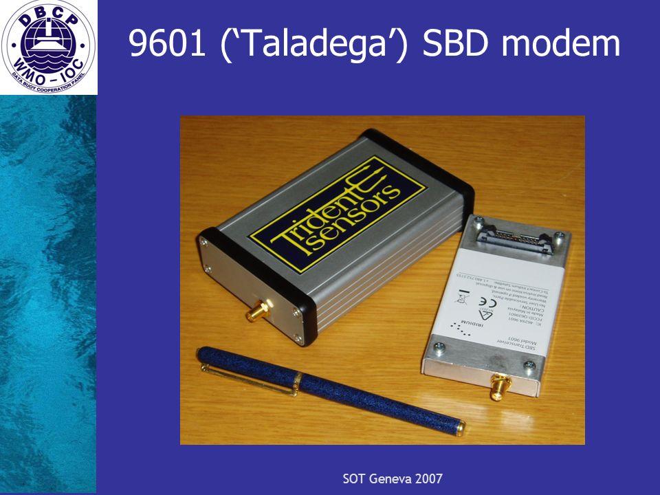 SOT Geneva 2007 9601 (Taladega) SBD modem