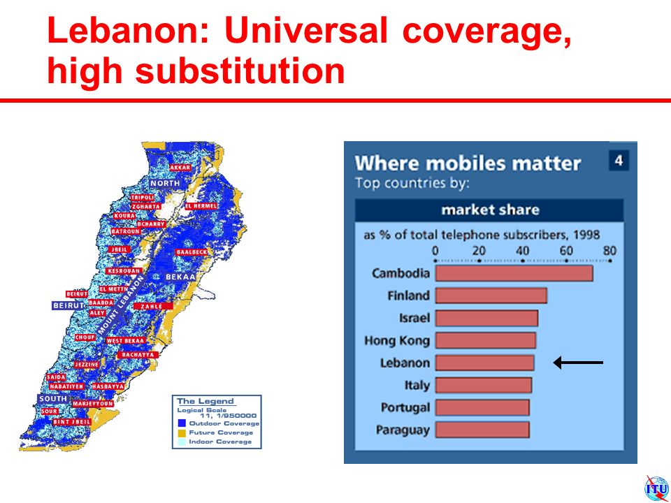 Lebanon: Universal coverage, high substitution