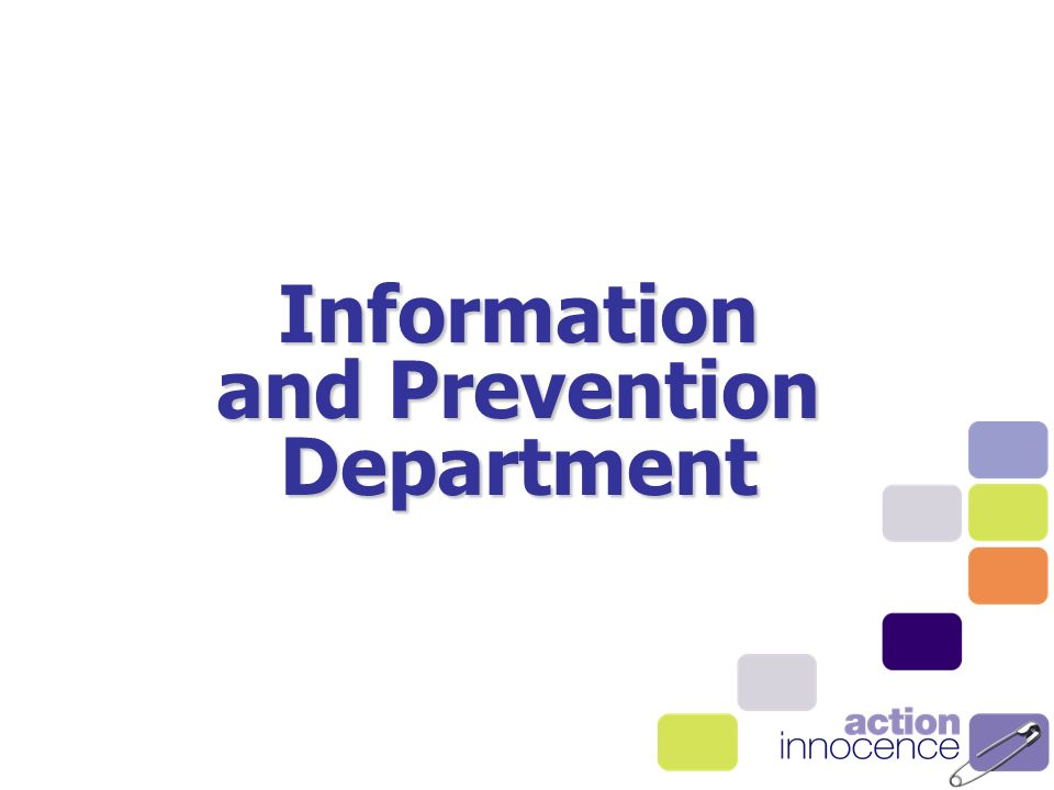 Information and Prevention Department