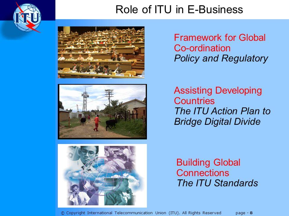 © Copyright International Telecommunication Union (ITU).