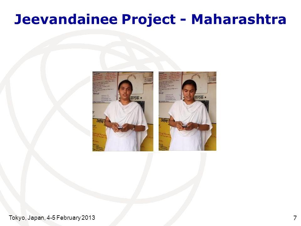 Jeevandainee Project - Maharashtra Tokyo, Japan, 4-5 February 2013 7