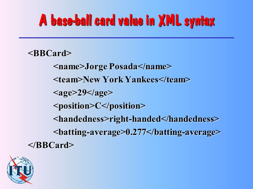 The C data-structure for the base-ball card typedef struct BBCard { char name [61] ; char team [61] ; short age ; char position [61] ; enum { left_handed = 0, right_handed = 1, ambidextrous = 2, } handedness ; float batting_average ; } BBCard ;