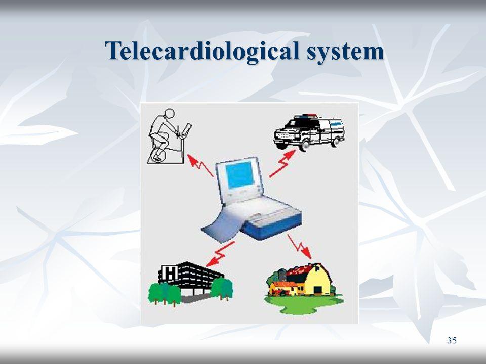 35 Telecardiological system