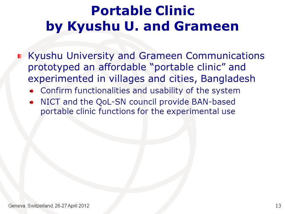 Portable Clinic by Kyushu U.
