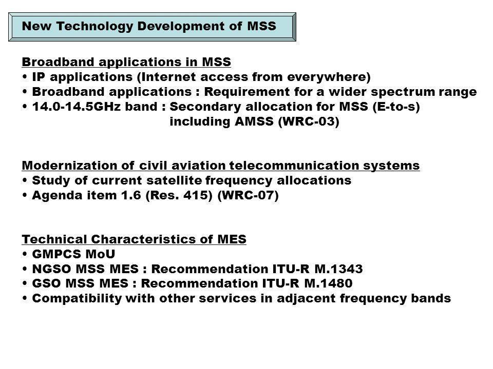 IMT-2000 Satellite Component Radio Interface : Rec.