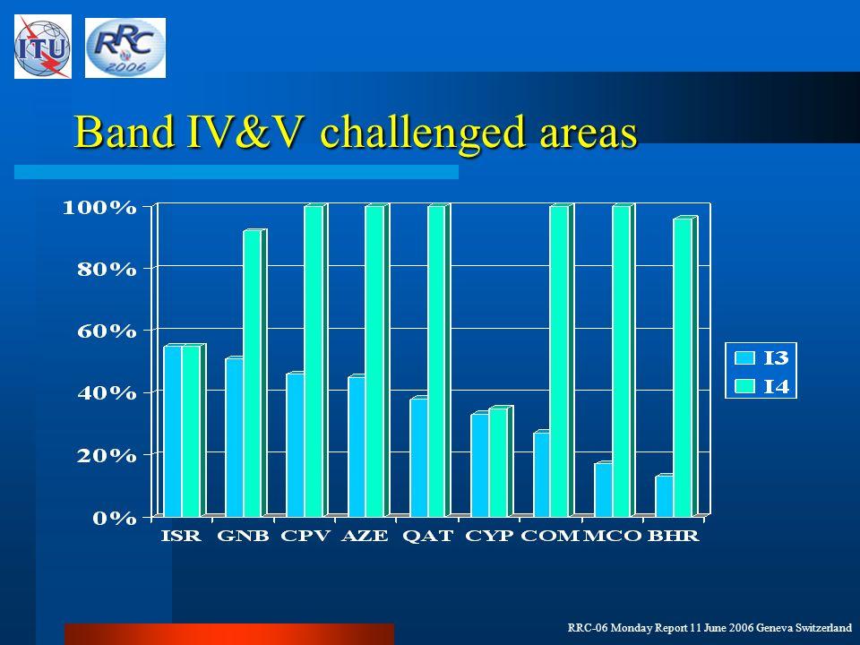 RRC-06 Monday Report 11 June 2006 Geneva Switzerland Band III DVB-T challenged areas