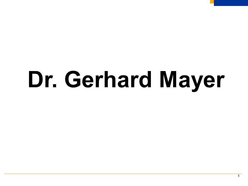 5 Dr. Gerhard Mayer