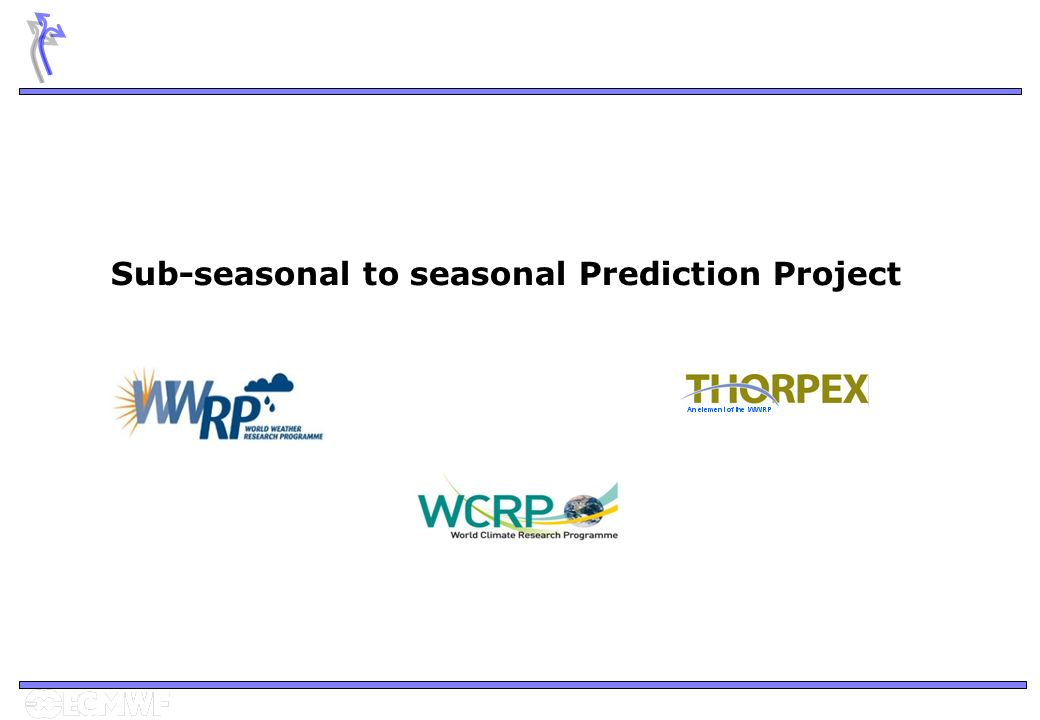 Sub-seasonal to seasonal Prediction Project