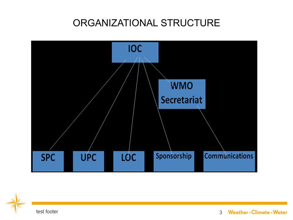 3 ORGANIZATIONAL STRUCTURE