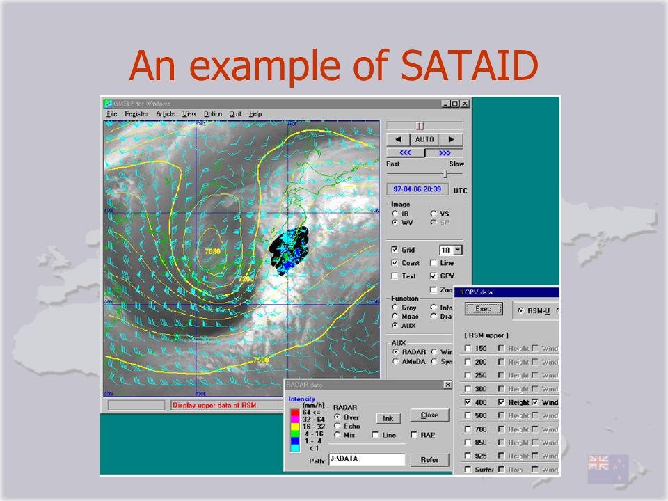 An example of SATAID