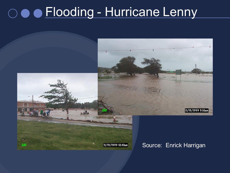 Flooding - Hurricane Lenny Source: Enrick Harrigan