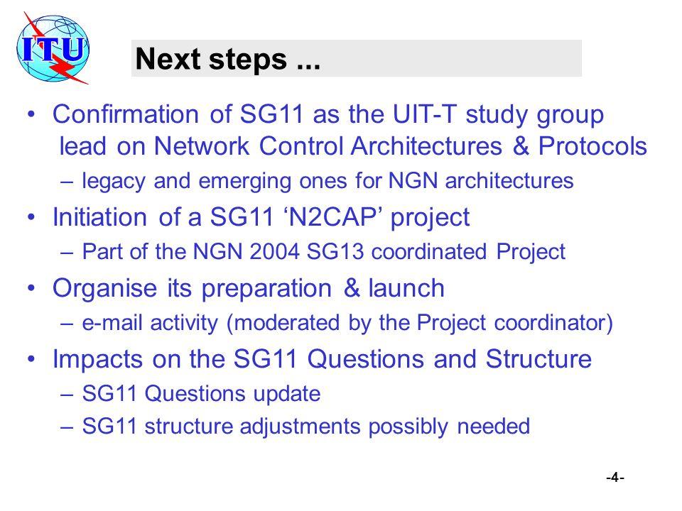 -4- Next steps...