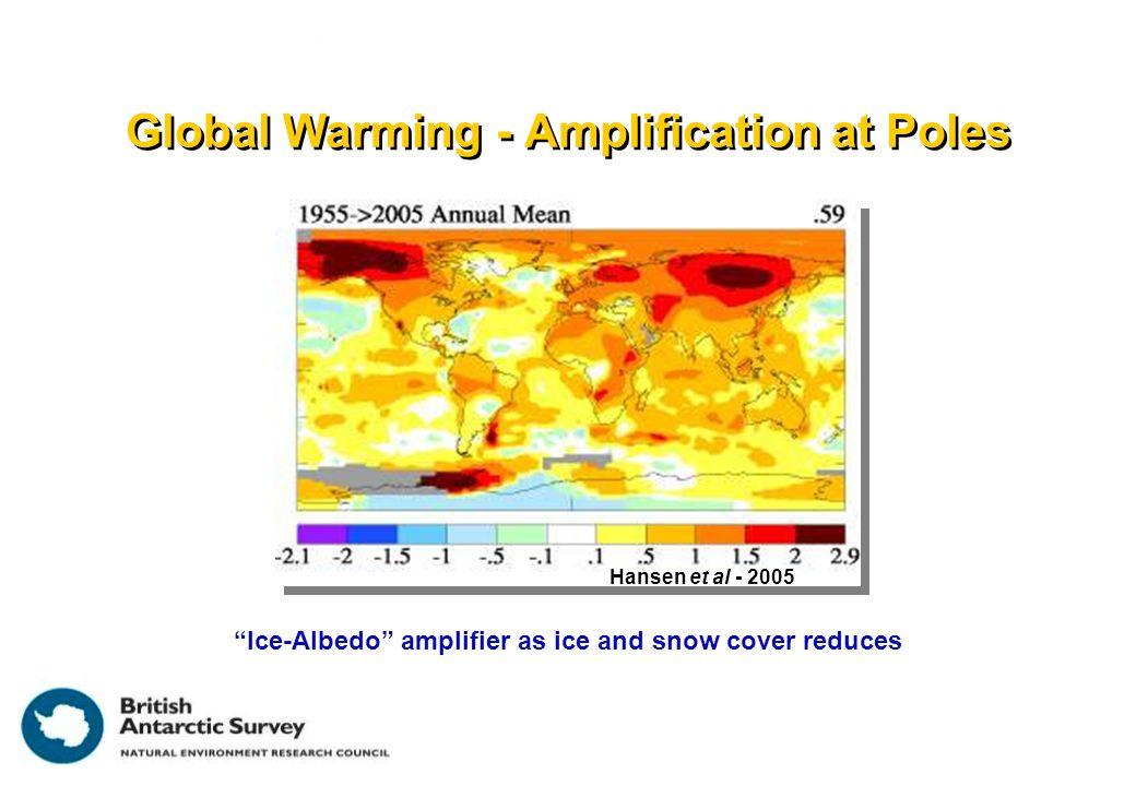 Glaciers accelerated Glacier stable Larsen B Collapse