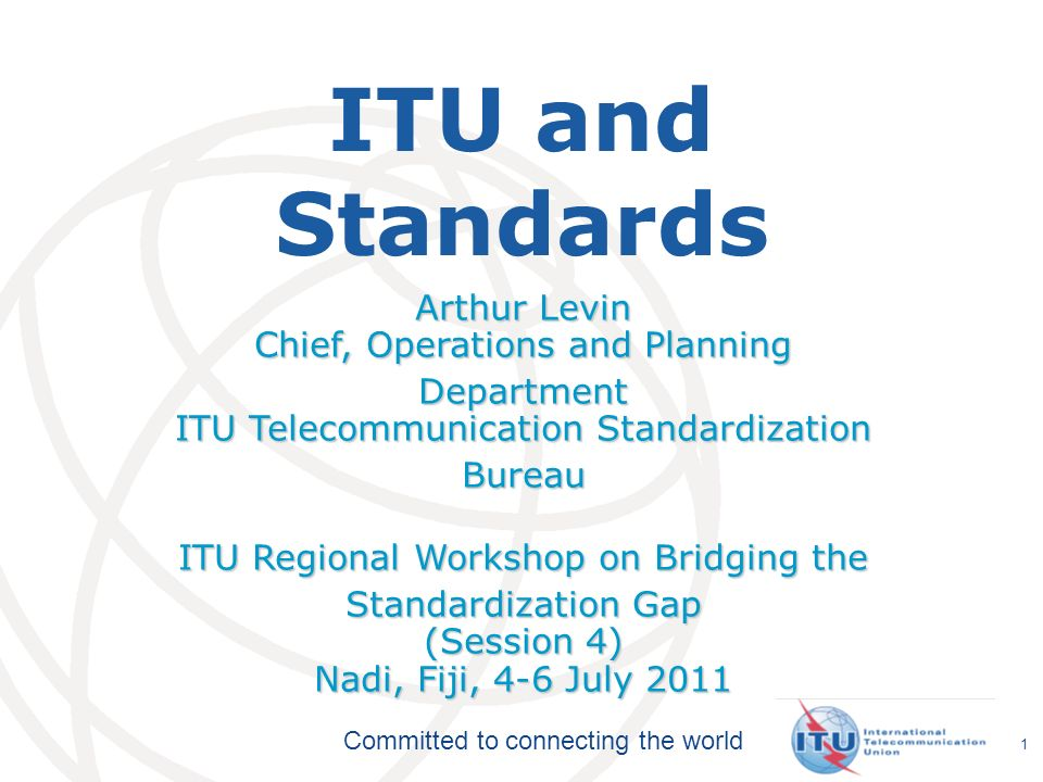 Committed to connecting the world Plenipotentiary Conference ITU Council ITU-T World Telecom Standardization Assembly ITU-R World/Regional Radiocomm Conference Radiocomm Assembly ITU-D World/Regional Telecom Development Conference General Secretariat TELECOM ITU Structure 2