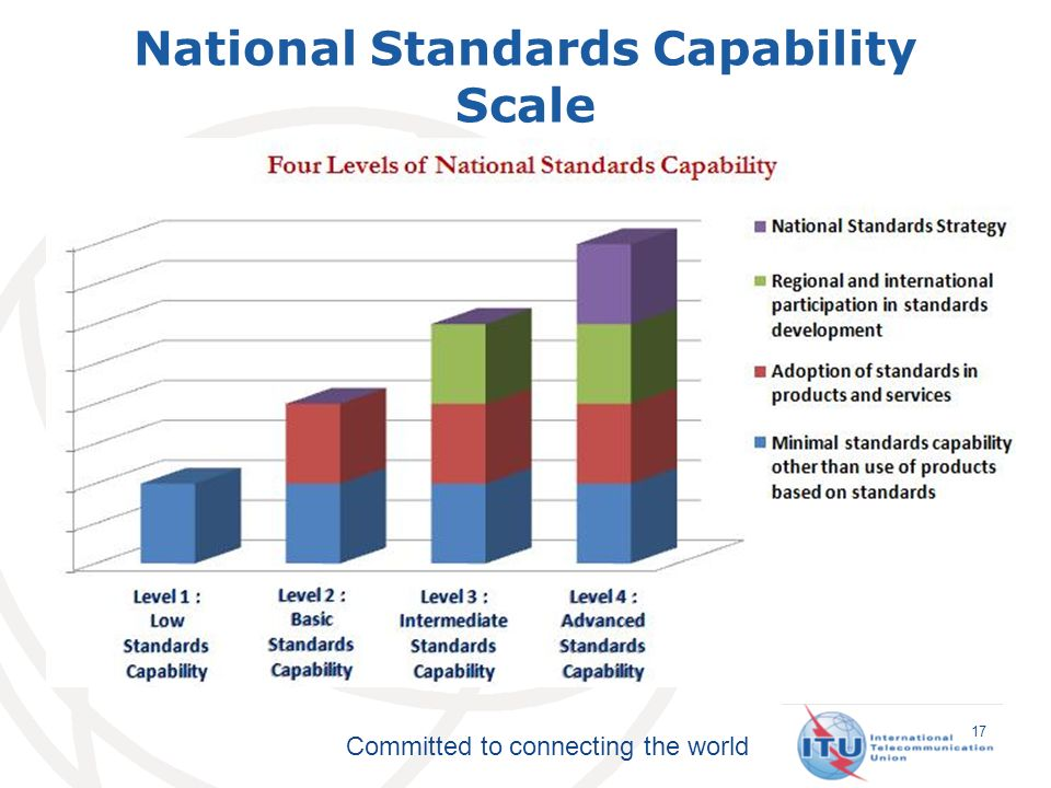 Committed to connecting the world National Standards Capability Scale 17