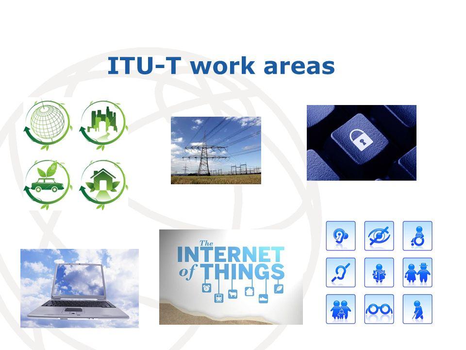 International Telecommunication Union ITU-T work areas