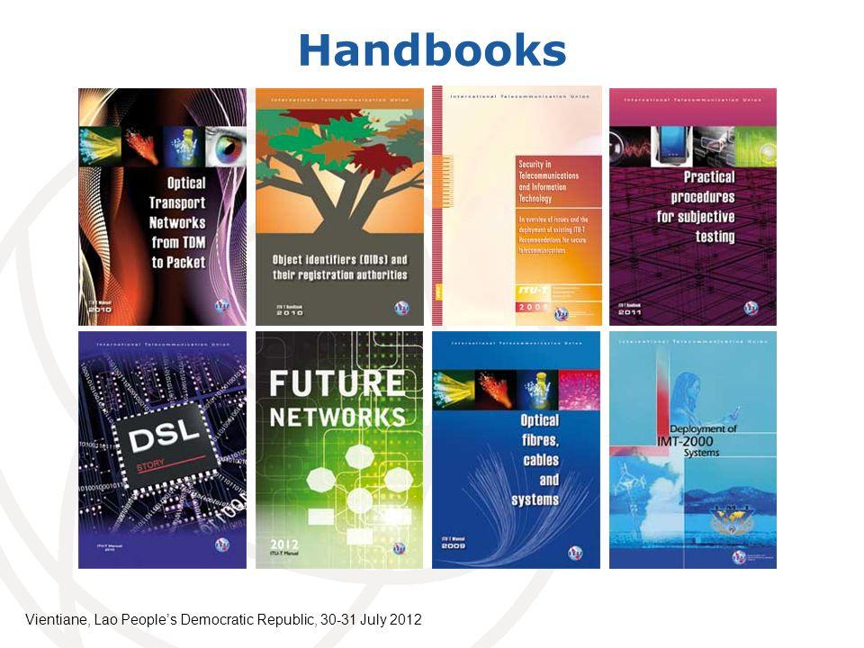 Handbooks Vientiane, Lao Peoples Democratic Republic, 30-31 July 2012