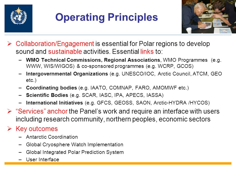 Antarctic Coordination Integration of all Antarctic observing stations into the Antarctic Observing Network (AntON): –WMO Congress adopted the EC-PORS recommendation to integrate all WMO Antarctic networks (surface and upper-air stations and including all GCOS (GSN and GUAN) and GAW stations) into an Antarctic Observing Network (AntON) that will comprise all operational stations, all producing climate messages.