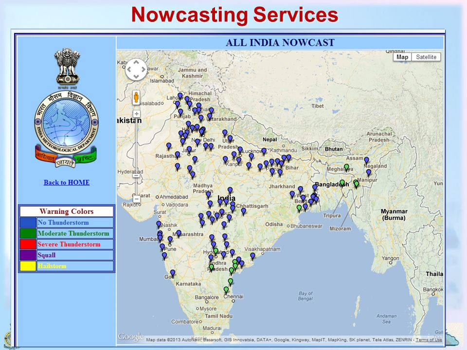 Nowcasting Services