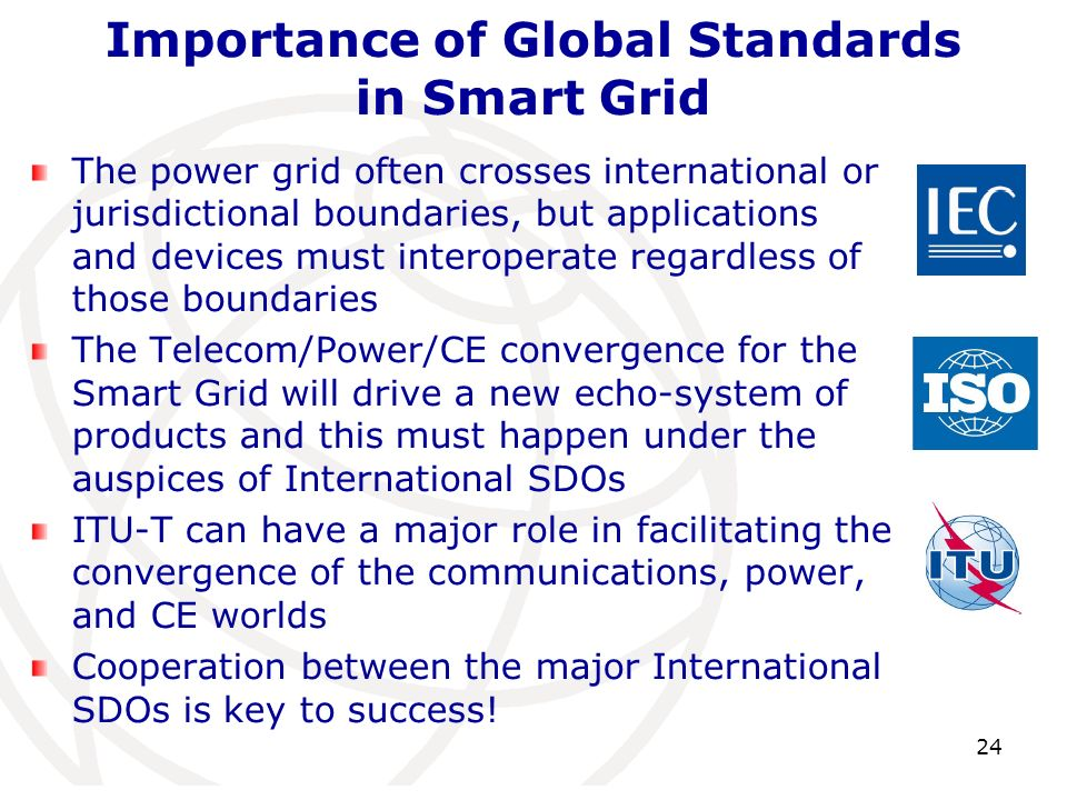 The power grid often crosses international or jurisdictional boundaries, but applications and devices must interoperate regardless of those boundaries