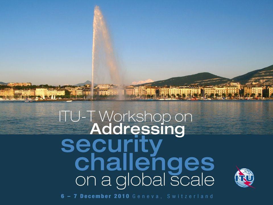ITU-T activity in ICT security Dr.